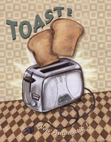 Nifty Fifties - Toast Fine Art Print