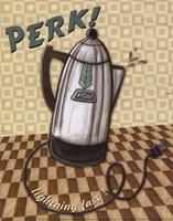 Nifty Fifties - Perk Fine Art Print