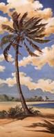 Palm Breeze II Framed Print