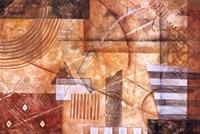 Sienna Rhythm Fine Art Print