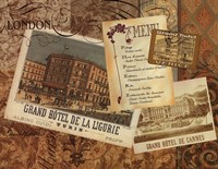 Grand Hotel Nice Framed Print
