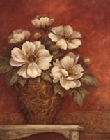 Villa Flora Peonies Fine Art Print