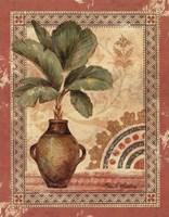 Fresco Palm IV Framed Print