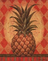 Grand Pineapple Gold Fine Art Print
