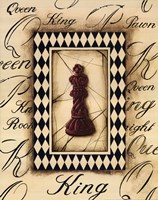 Chess King Framed Print