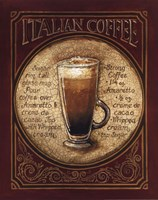 Italian Coffee Framed Print