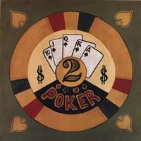 Poker - $2 Fine Art Print
