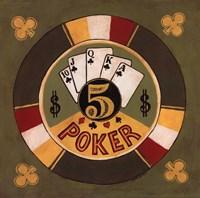 Poker - $5 Fine Art Print