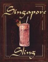Singapore Sling Framed Print