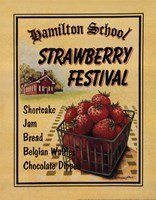 Strawberry Festival Framed Print