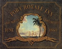 Port Royale Inn Framed Print