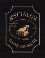 Specialita Gastronomiche Fine Art Print