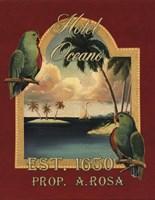 Hotel Oceano - Mini Fine Art Print