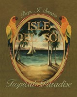 Isle Del Sol - Mini Framed Print