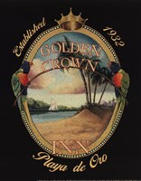 Golden Crown Inn Framed Print