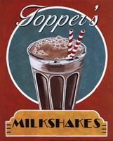 Milkshakes Framed Print