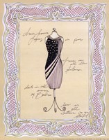 Dress Form I Framed Print