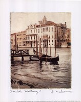 Gondola Waiting Framed Print