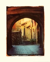 Italian Lane I Framed Print