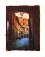 Italian Lane II Framed Print