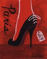 High Heels Paris Framed Print
