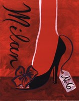 High Heels Milan Fine Art Print