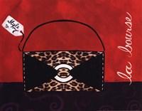 Leopard Handbag II Fine Art Print