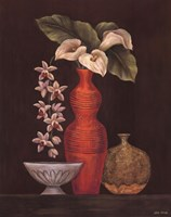 White Calla Lilies Fine Art Print