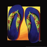 Bahama Thongs Fine Art Print