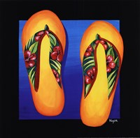 Hawaii Thongs Fine Art Print