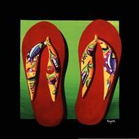 Napa Thongs Fine Art Print