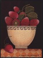 Cup O'Strawberries Fine Art Print