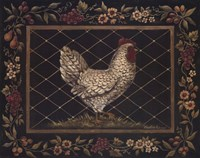 Old World Hen Fine Art Print