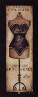 Paris Lingeries No. 287 Fine Art Print