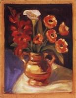 Poppy  Calla Lily Framed Print