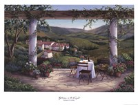 Afternoon in the Vineyard Fine Art Print