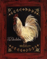 Le Chanticleer Framed Print