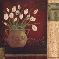 Villa Tulips Fine Art Print