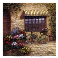 Flower Peddler Framed Print