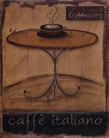 Caffe Italiano Framed Print