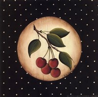 4 Cherries Framed Print