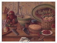Baked Goods Framed Print