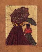 Red Parasol Fine Art Print