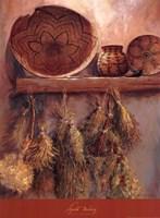 Apache Basketry Fine Art Print