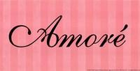 Amore' Framed Print