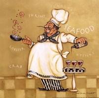 Seafood Chef Fine Art Print