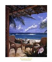 Paradise Porch Fine Art Print