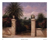 Palm Gate I Fine Art Print