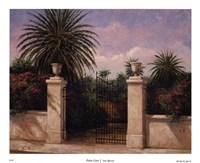 Palm Gate I Fine Art Print