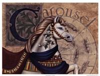 Carousel Horses I Fine Art Print
